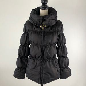 Zara Basic Puffer Black Jacker Size ML